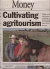 Article of Rolling Plains Adventures in the Bismarck Tribune
